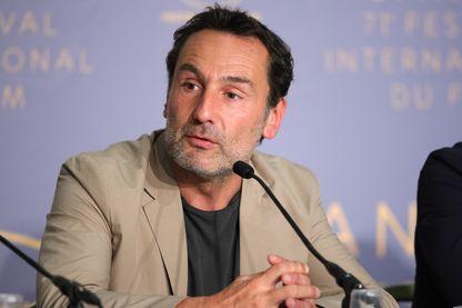Gilles Lellouche, acteur et réalisateur français, lors d'une conférence de presse au Festival de Cannes, le 14 mai 2018 (France).