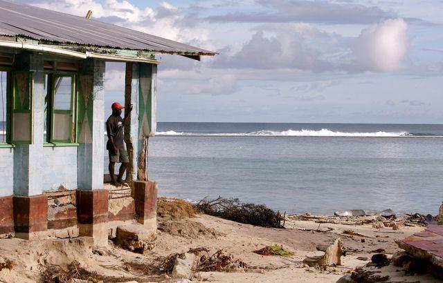 Les îles du Pacifique sont menacées, comme ici les îles Salomon.