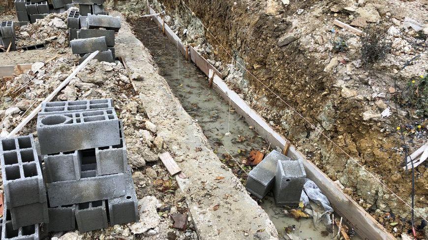 Le chantier d'Anthony Blanchard en région parisienne, stoppé depuis septembre dernier