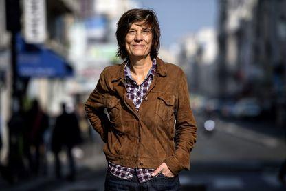 """Catherine Corsini  réalisatrice, scénariste et actrice française. Elle vient de sortir """"Un amour impossible"""" avec Virginie Efira et Niels Schneider (sortie 7 novembre 2018)"""