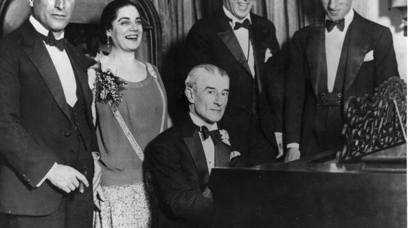 Maurice Ravel pendant une tournée américaine