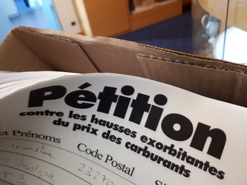 Les gilets jaunes du Limousin apporteront les pétitions ce jeudi au Préfet de Haute-Vienne