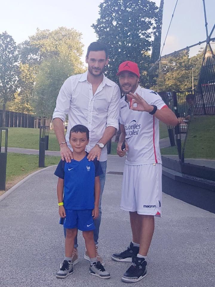Kaotik et Hugo Lloris ex OGC Nice et champion du monde