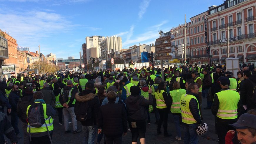 Mobilisation ce samedi place Wilson à Toulouse