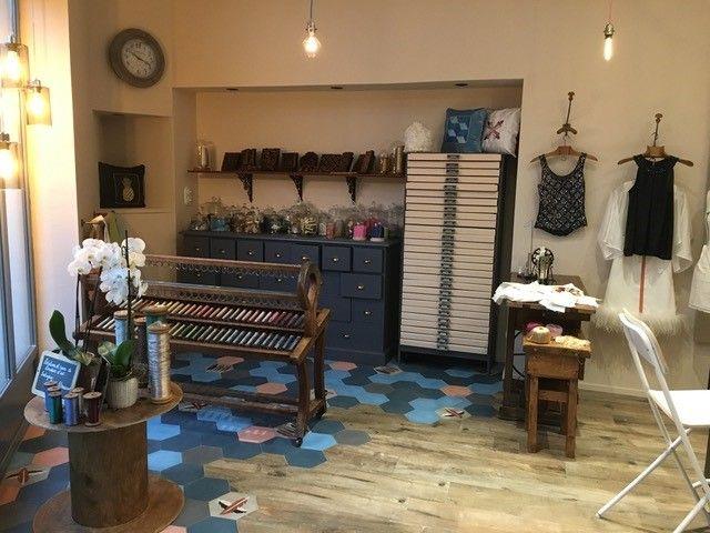 L'atelier de Magali Beaumont à l'isle sur la Sorgue