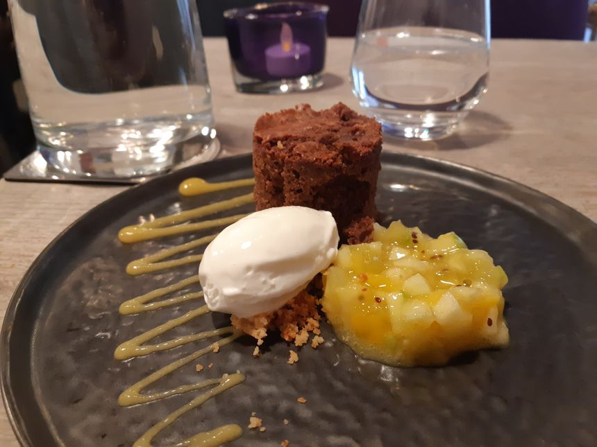 Le dessert par Cyril Pinon