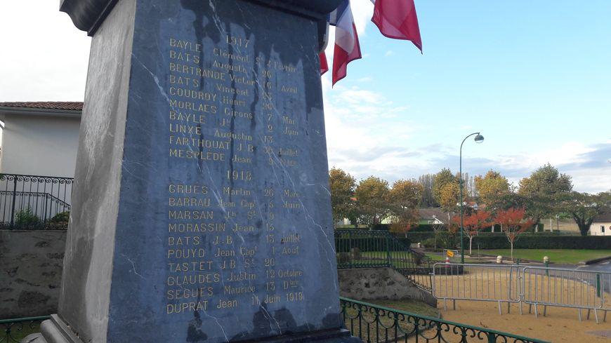Jean Duprat est mort un an après la fin de la Première Guerre mondiale d'une maladie contractée pendant le conflit