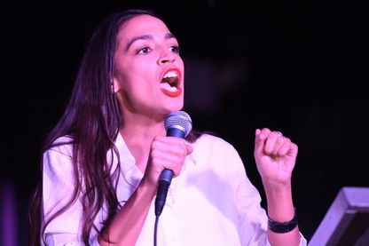 Alexandra Ocasio-Cortez, 29 ans, benjamine du Congrès, l'un des nouveaux visages de l'Amérique après les élections de mi-mandat mardi 6 novembre 2018.