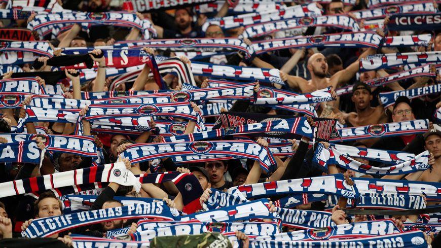 Les ultras du PSG à l'occasion du match PSG - Belgrade du 3 octobre dernier