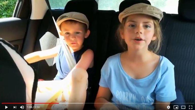 Une quinzaine d'enfants apparaissent dans le nouveau clip de Gauvain Sers