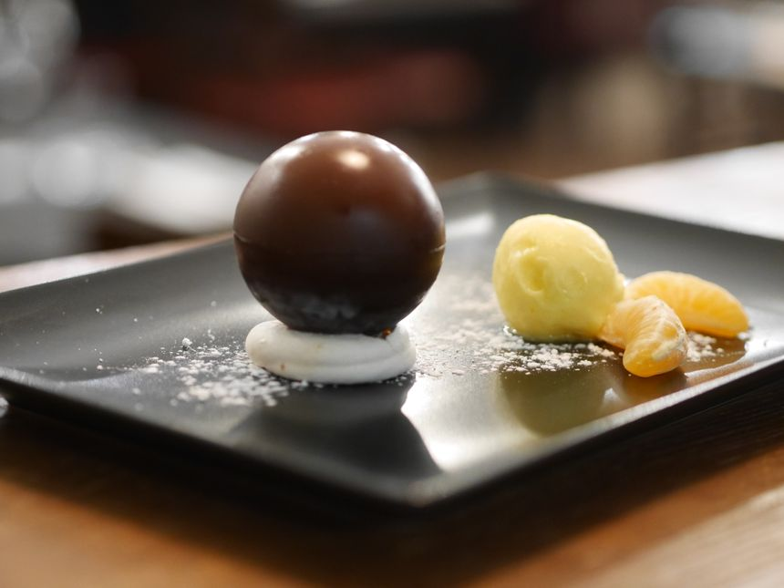Le chef de Notre Resto aime le chocolat