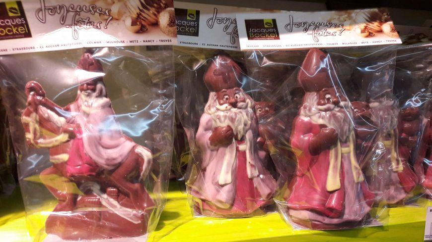 Noël représente un tiers du chiffre d'affaire du chocolatier alsacien Jacques Bockel.