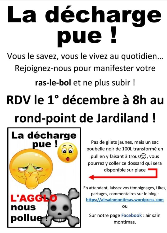 Les riverains manifestent ce samedi 1er décembre pour dénoncer ces odeurs