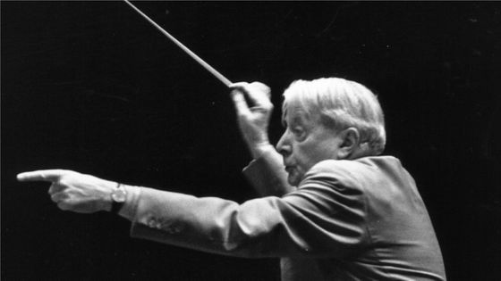 Charles Munch en répétitions avec le Philharmonic Orchestra, © Erich Auerbach/Getty Images