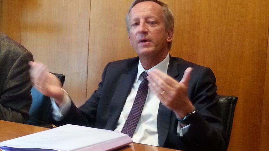 Olivier Richefou le président du conseil départemental de la Mayenne