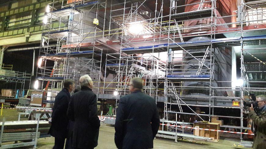 Le prototype est en cours de finalisation dans les ateliers de CMN à Cherbourg
