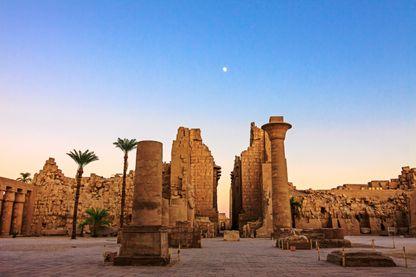 Temple de Karnak, à Luxor (Egypte)