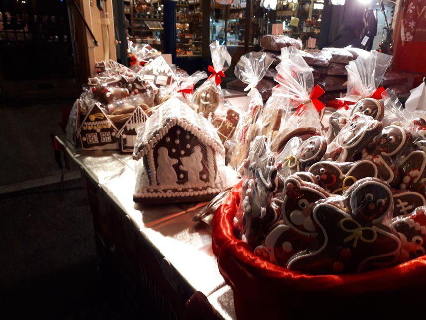 Le marché de Noël de Limoges offre de nombreuses gourmandises