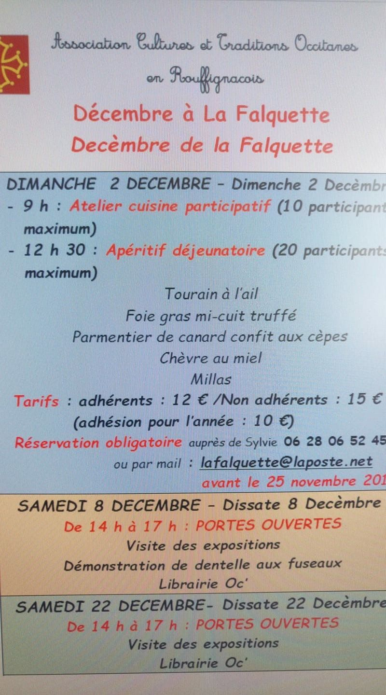 décembre à La Falquette
