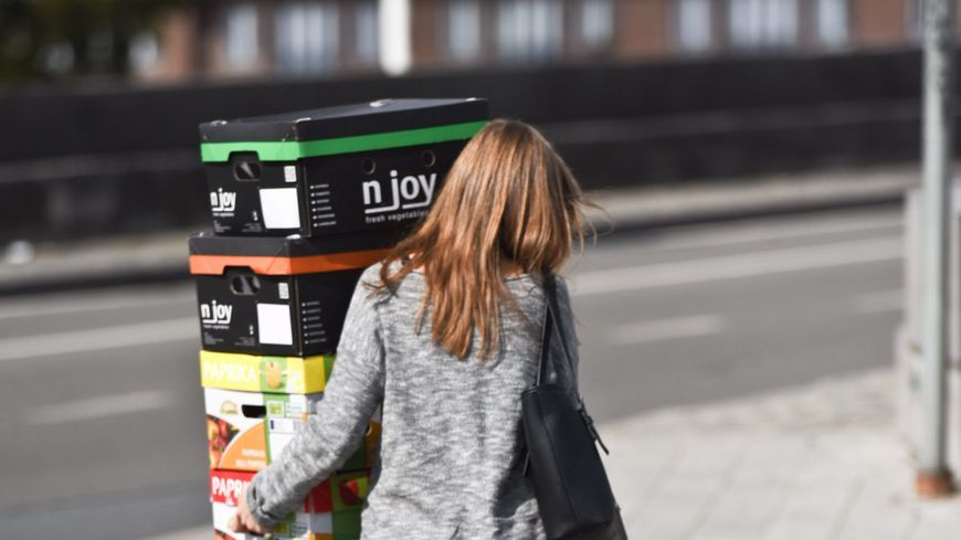 Le service Shopopop a été lancé à Nantes dès 2016.
