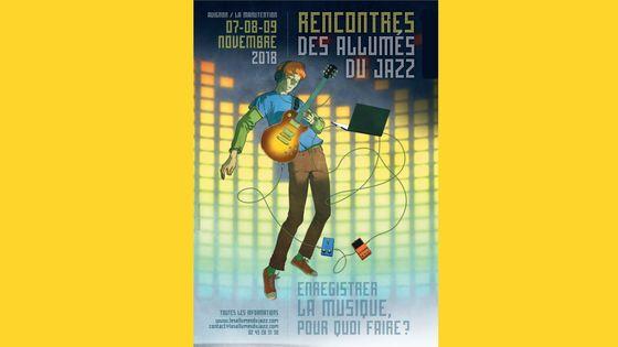 Affiche Rencontres des Allumés du Jazz