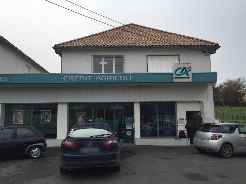 L'agence du Crédit agricole visée par une tentative de cambriolage à Chamiers