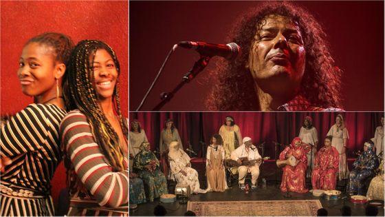 Les Sœurs Hié© Live Culture; Aziz Sahmaoui & University of Gnawa; Lemma© Joel Bonnard
