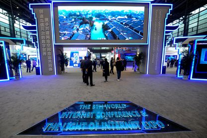 """A Wuzheng, la semaine dernière, la Chine avait organisé son propre """"sommet mondial"""" d'Internet, afin de promouvoir son propre modèle de gouvernance."""