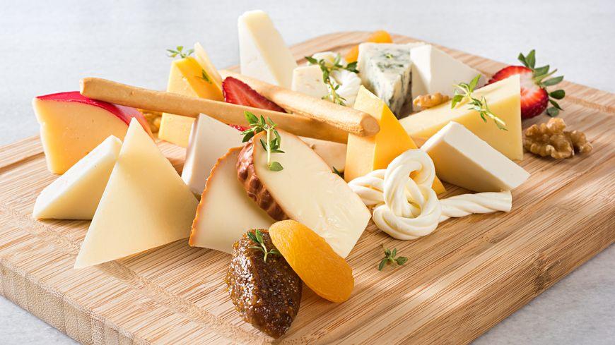 Le plateau de fromages dans nos repas