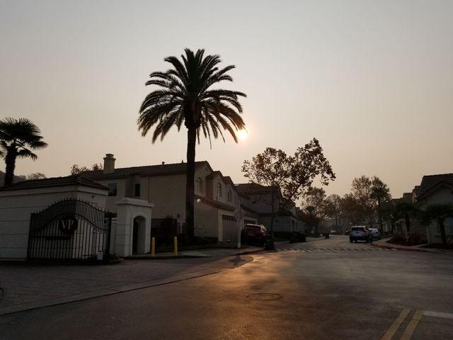 Californie : dans la ville de San Ramon, région de Sacramento, le 15 novembre 2018