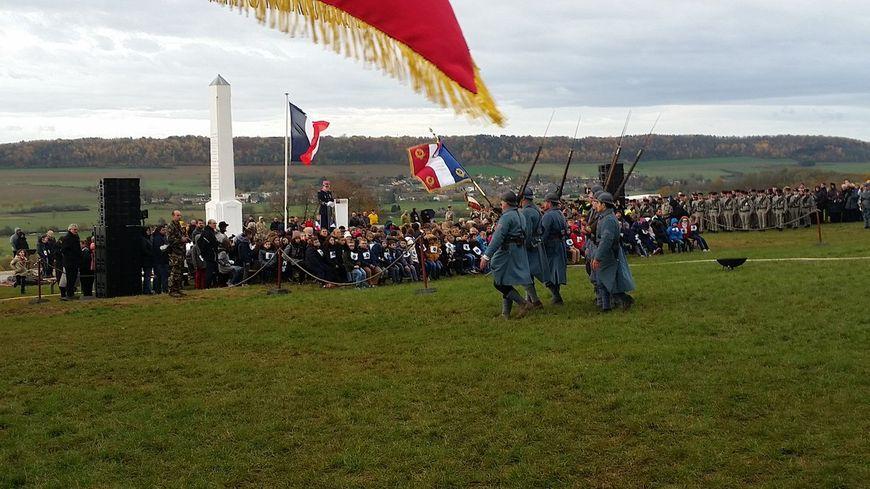 Recueillement et émotion à Vrigne-Meuse dans les Ardennes.