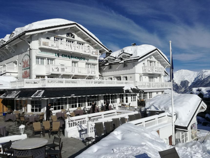 Le vaisseau blanc de Courchevel 1850 - Radio France