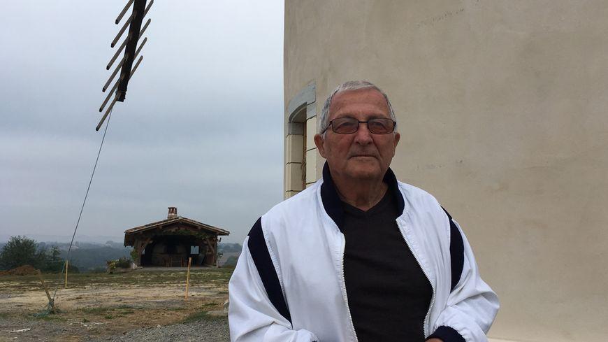 Le moulin culmine à 97 mètres d'altitude, indique Claude Havas.