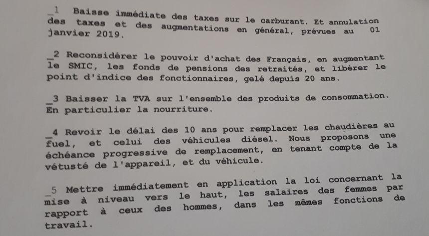 Les gilets jaunes ont présenté au maire de Limoges une suggestion de motion reprenant leurs revendications