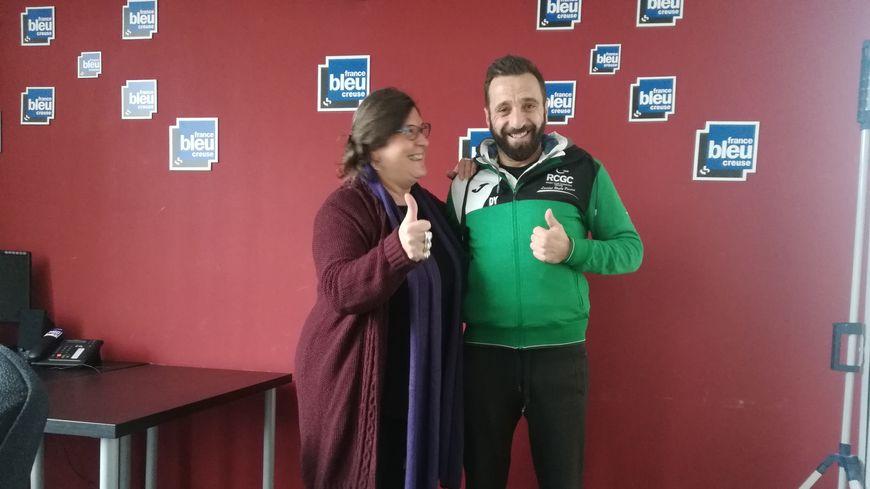 Yann Dulac entraineur por de rugby au RCGC à Guéret : rencontres authentiques