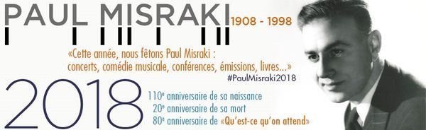 Programme autour de l'anniversaire Paul Misraki