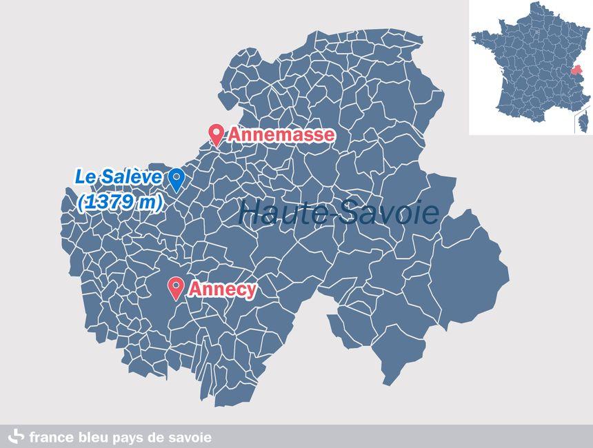 Le Salève, en Haute-Savoie
