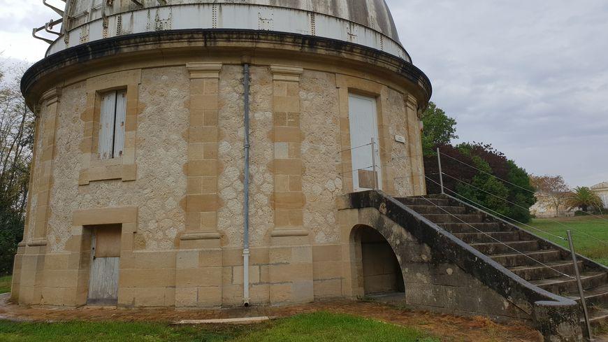 L'une des coupoles de l'observatoire astronomique de Bordeaux à Floirac