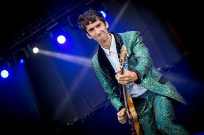 Delicate Steve en concert le 15 juillet 2017 à Ottawa, Canada.