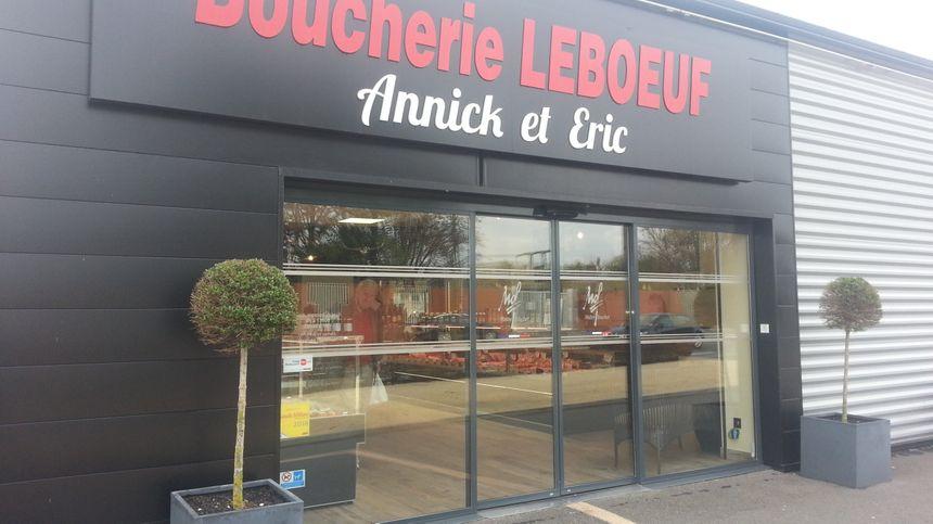La boutique d'Eric Leboeuf à St-Doulchard, près de Bourges.