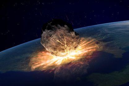 Cratère de météorite