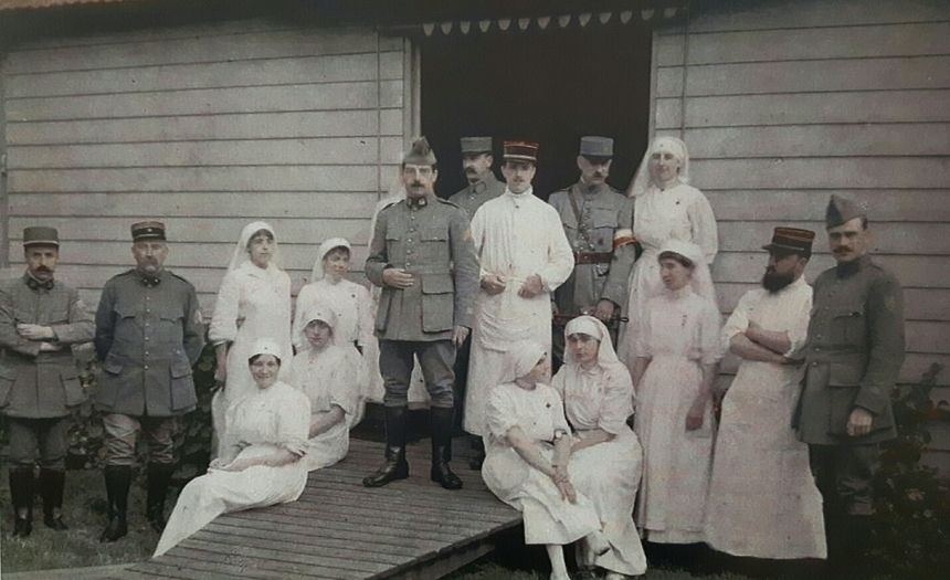 Une exposition en forme d'hommage aux soignants de la première Guerre Mondiale