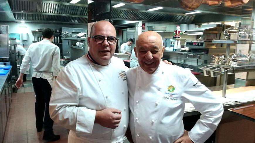 Un duo doublement étoilé Stéphane Buron et Michel Rochedy