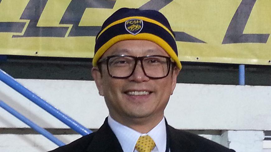 Wing-Sang Li ne perd pas son sourire malgré les difficultés financières que traverse son club