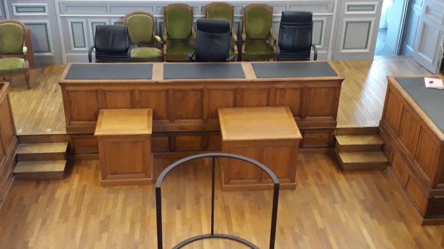 La salle d'audience, où le chauffard a été jugé en comparution immédiate