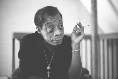 James Baldwin, le 1er avril 1972