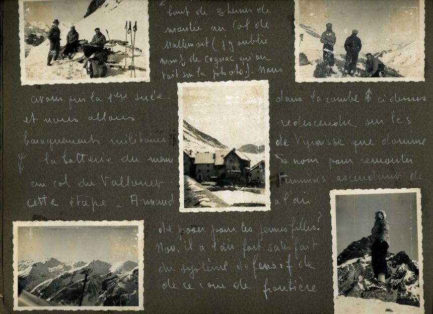 Un carnet de voyage à l'encre blanche, agrémenté d'une centaine de photos noir et blanc