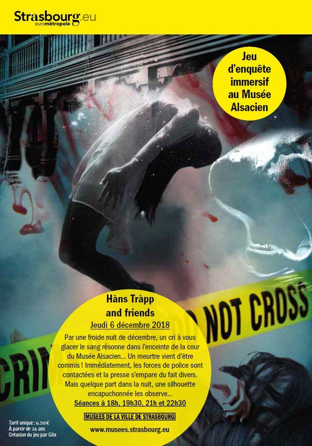 L'affiche de la murder party