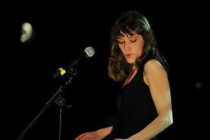 Emilie Loizeau, en concert au Printemps de Bourges, le 16 avril 2016.