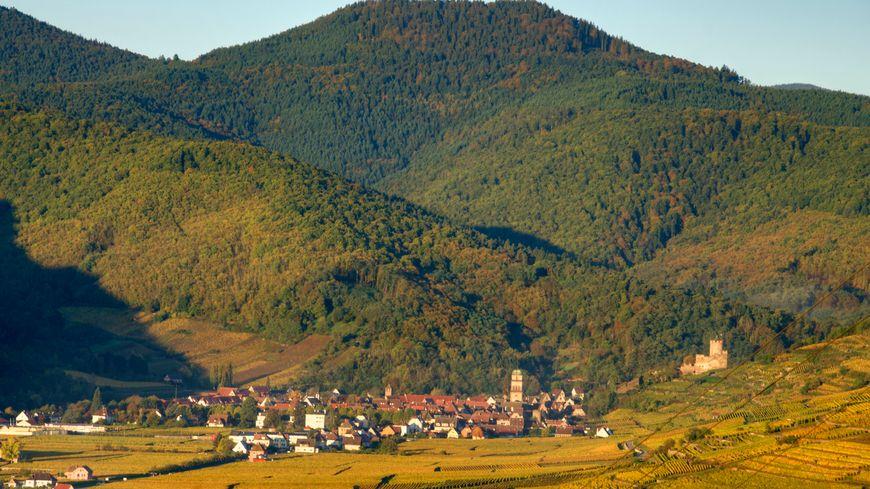 Kaysersberg en automne